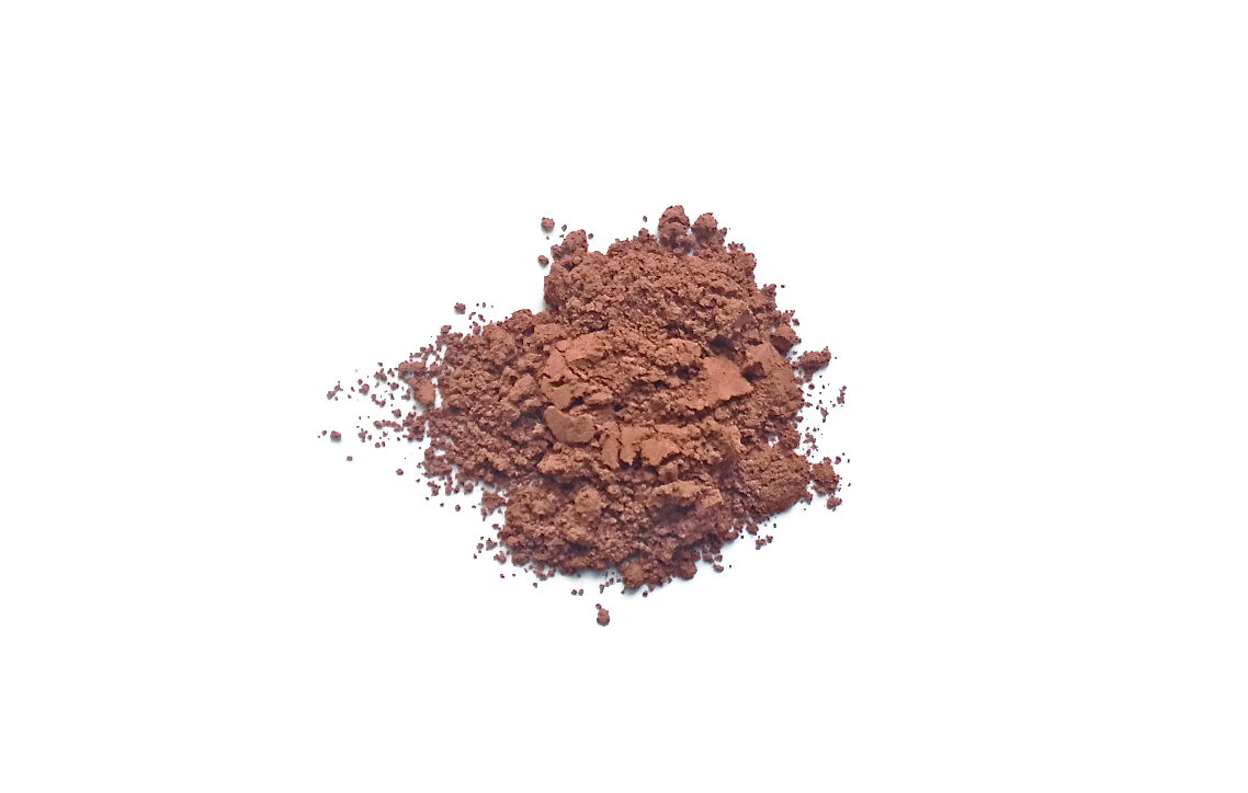Amber - Terracotta Bronze Mineral Blush - Handcrafted Makeup