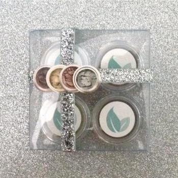 Metallic Holiday Mineral Eyeshadow Gift Set - // FREE gift with purchase //